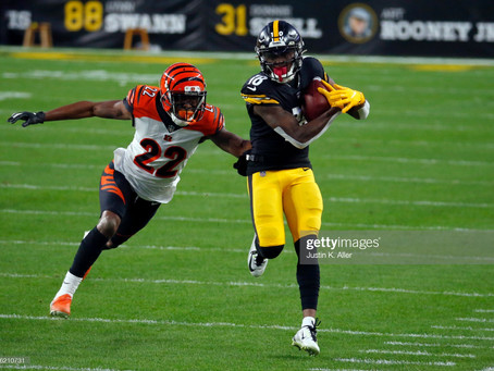 Steelers WRs coach Ike Hilliard says they're being 'cognizant' of limiting drops this season