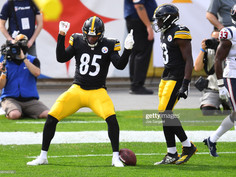 Eric Ebron says the Steelers tight end room will be 'bad ass' this year