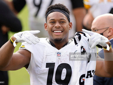 JuJu Smith-Schuster has a new agent