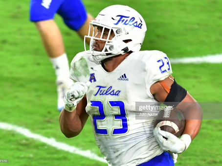 Two mock drafts have the Steelers selecting Tulsa LB Zaven Collins at 24th overall
