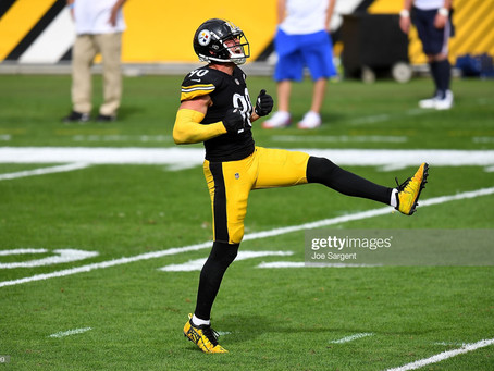 Mike Tomlin is mum on if T.J. Watt is dealing with an injury