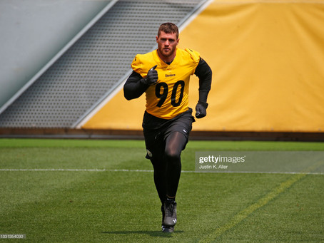 Is T.J. Watt sitting out parts of practice because a massive deal is looming?