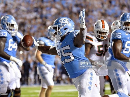 Daniel Jeremiah has North Carolina RB Javonte Williams ranked as his 26th overall prospect