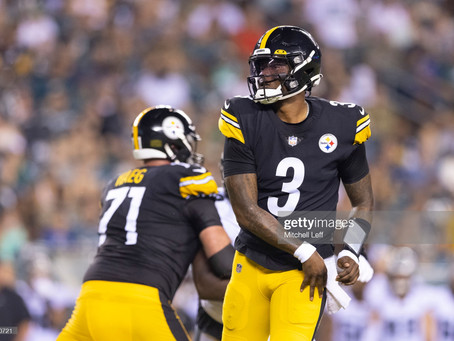 Tomlin says Haskins won't get first-team reps against the Lions. Wants to see Ben 'in-stadium'