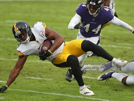 JuJu Smith-Schuster said the Ravens heavily recruited him to play in Baltimore during free agency