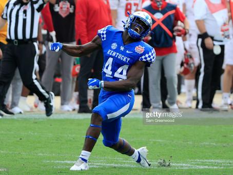 Bucky Brooks has the Steelers selecting Kentucky ILB Jamin Davis at 24th overall in mock draft