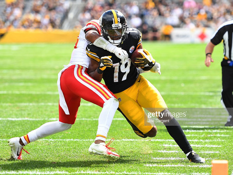 JuJu Smith-Schuster says 'it would've been K.C.' if he didn't re-sign with the Steelers
