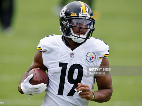 JuJu Smith-Schuster asks Steelers Nation if he should switch from No. 19 to No. 9