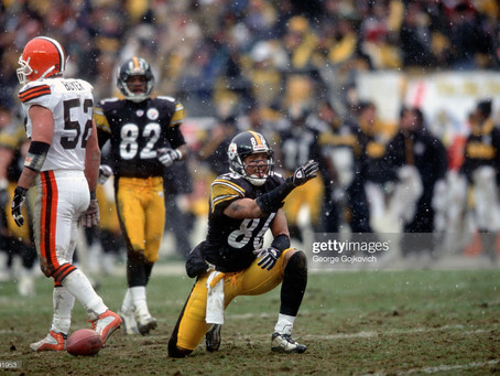 Pro Football Network ranks the Steelers' 2002 receiver corps 11th best of all-time