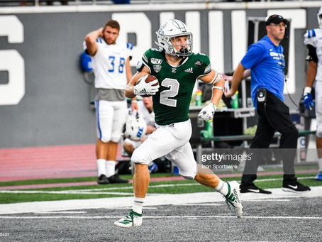Steelers are signing former Eastern Michigan WR Mathew Sexton