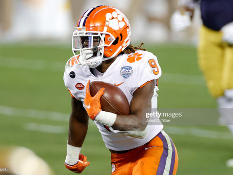 Steelers haven't had a pure speed back since Willie Parker. Could Travis Etienne be the next one?