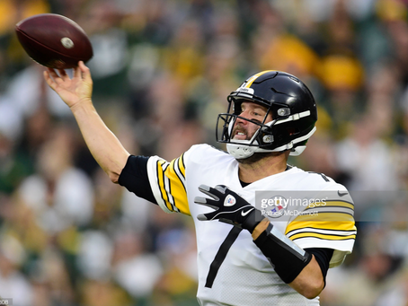 To not consider benching Ben Roethlisberger is unfair to the rest of the team