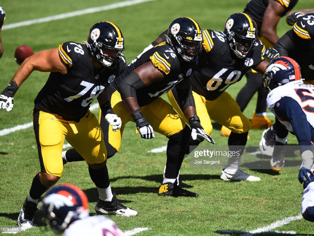 Bill Barnwell of ESPN dismantles the Steelers' roster. Says the offensive line is a 'mess'