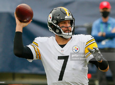 Steelers scored a touchdown on their opening drive against the Titans, breaking a 23-game drought