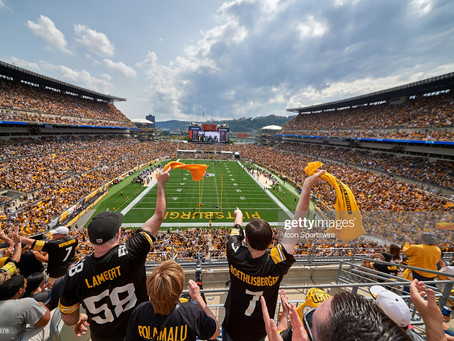 Longtime NFL writer Ben Volin ranks Pittsburgh as the ninth-best NFL city
