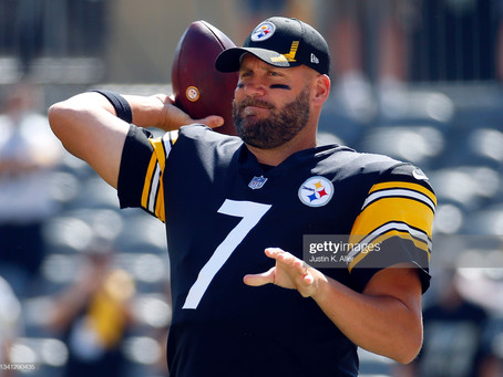 Mike Tomlin says Ben Roethlisberger is dealing with a left pectoral injury
