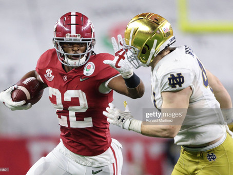 Minkah Fitzpatrick says Najee Harris has that 'you're not gonna outwork me type mindset'