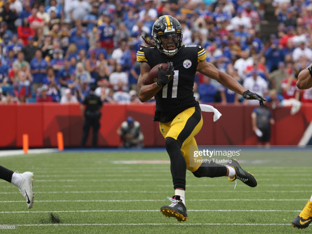 Ben Roethlisberger says Chase Claypool played 'grown man football' against the Bills