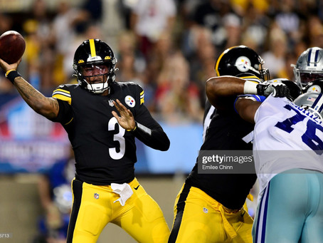 Mike Tomlin on the battle for the No. 2 quarterback position: 'Keep watching'