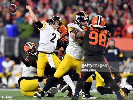 With Mason Rudolph starting on Sunday, the Steelers are now 10-point underdogs against the Browns