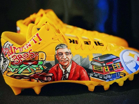 A look at Minkah Fitzpatrick's Pittsburgh-themed cleats