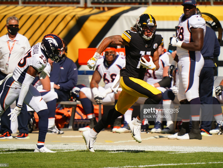 Steelers are 1-point favorites against the Broncos