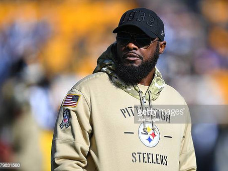 Tomlin on the O-line: 'We don't have a bar set real high. We were last in the league in rushing'