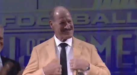 Bill Cowher, Alan Faneca and Donnie Shell received their Gold Jackets