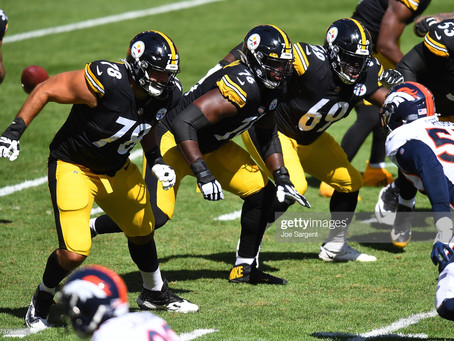 Booger McFarland says the Steelers offensive line can't be 'any worse' than last year's unit