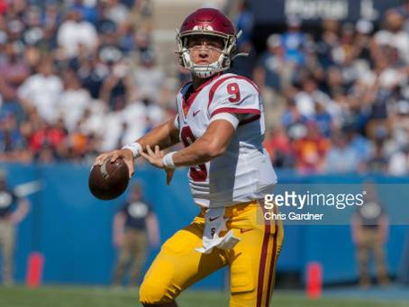 PFF has the Steelers selecting USC QB Kedon Slovis at 13th overall in 2022 mock draft