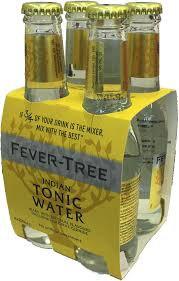 tonica fever-tree 200ml x 4
