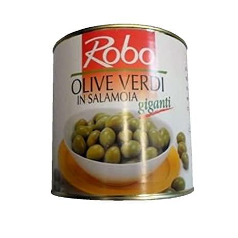 Olive verdi giganti 1600g