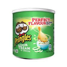 Patatine pringles Cream & Onion 40gr