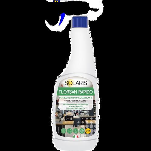 Detergente Sanificante Solaris florsan rapido 750ml e