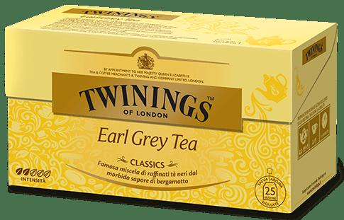 The' twinings earl grey classics 25 filtri