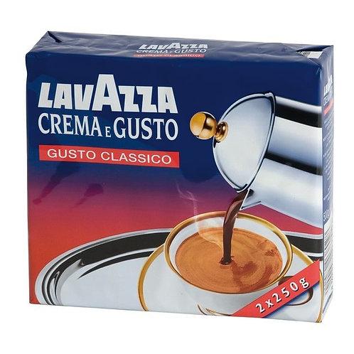 Caffè Macinato 2X 250g  Lavazza Crema e Gusto