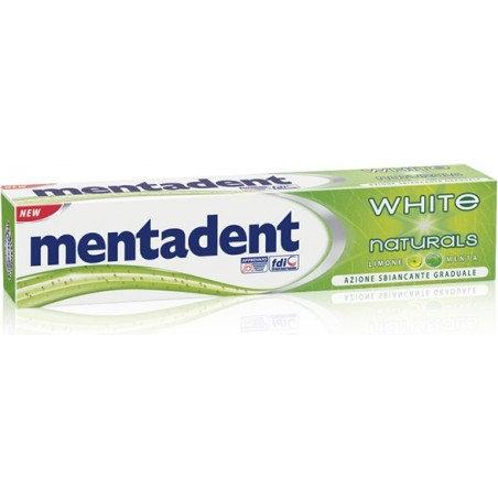 MENTADENT DENTIFRICIO WHITE NATURALS ML.75
