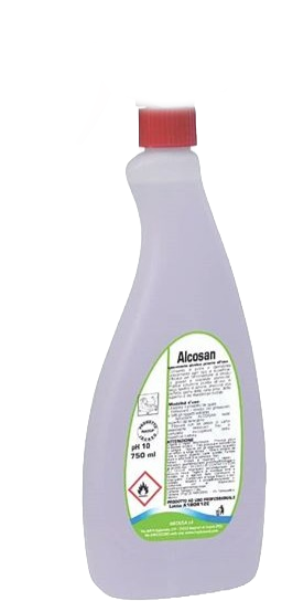DETERGENTE ALCOLICO ALCOSAN +