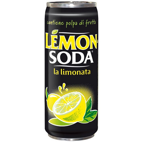 lemon soda lattina 33cl