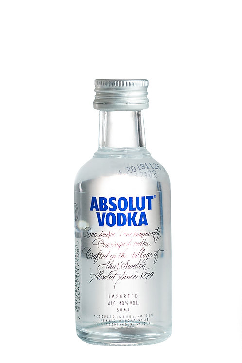 Vodka Absolut 5cl miniature