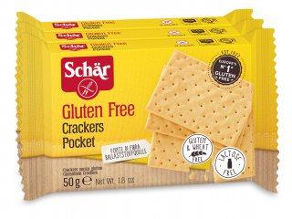 crackers schar 3 X 50G