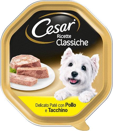 Patè con Pollo e Tacchino Cesar 150g