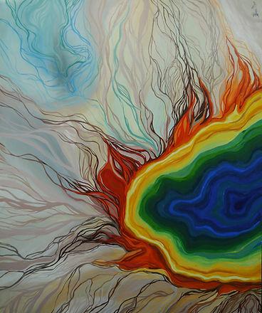 Old Faithful - Yellowstone Volcano - Aer