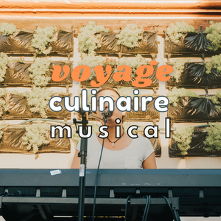 Voyage culinaire musical