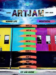 ArtJam Season Poster