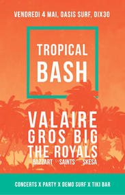 Tropical Bash Poster