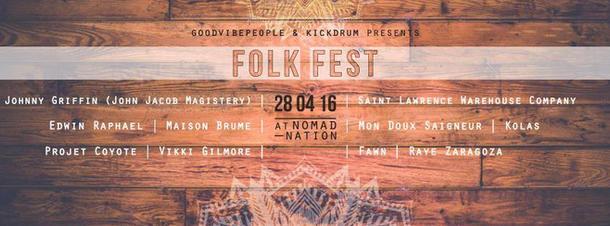 spring folk Fest flyer for Facebook