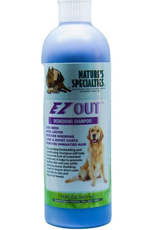 Nature Specialties EZ out shampoo