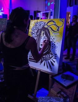 ArtJam live painting