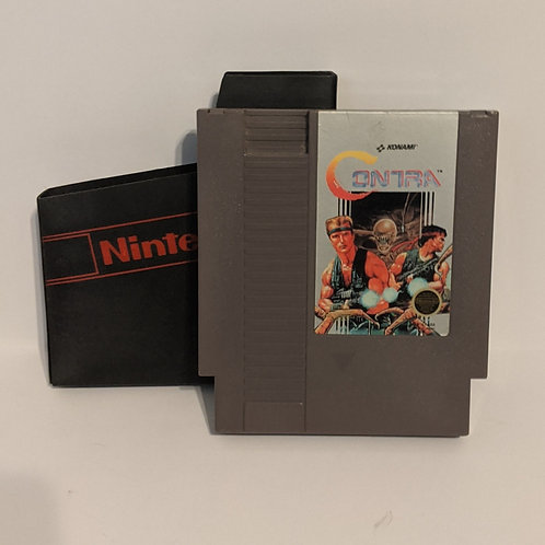 Contra NES Cart by Konami